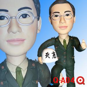 Q-A04-憲兵公仔娃娃